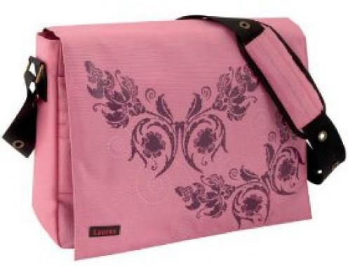 Pretty pink laptop bag for women