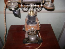 One of the first phones made on Display inside the Gamla Linkoping Bank