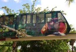 Metrozoo's monorail
