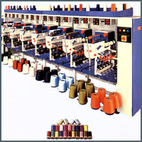 1 to 5 They are of Farook Thread Machinery Machines for Fancy Yarn Making.