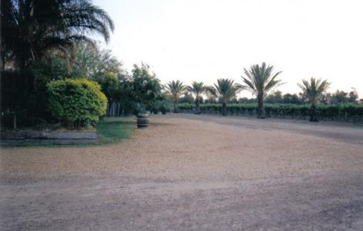 Entrance to Riversands Vineyard