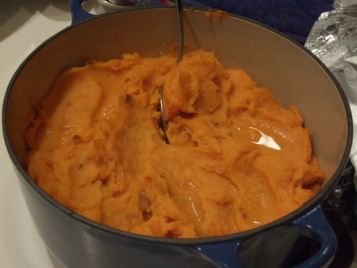 Chipotle sweet potatoes http://www.flickr.com/photos/brixton/2145871267/