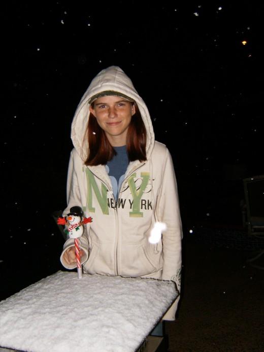 Snow in Houston in 2008