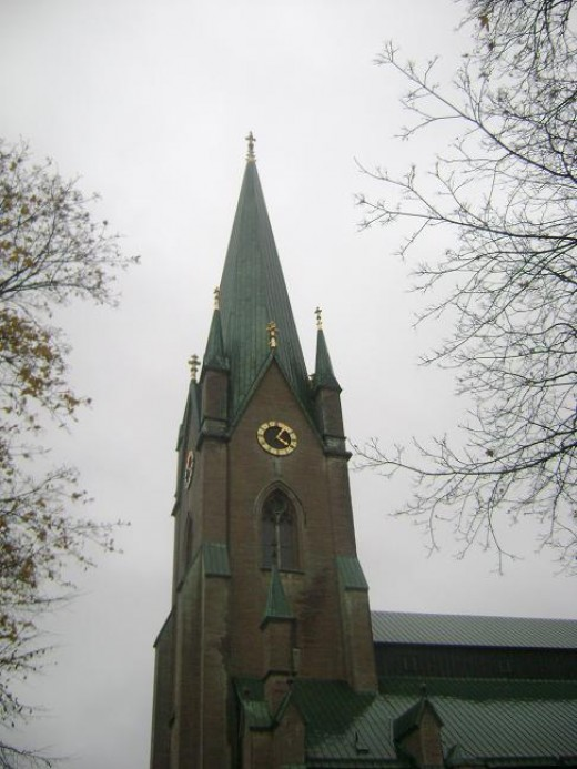Main Tower of Linkoping Cathedral
