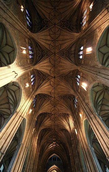 CANTERBURY CATHEDRAL CEILING