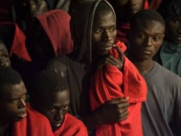 But they also rescue migrants from Africa who sail to Spain in small boats, many die before getting here.