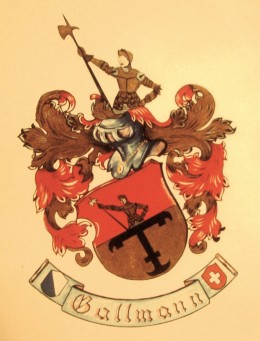 A Gallmann Coat of Arms