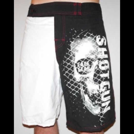 ShotGun Cage Gear Skull Shorts