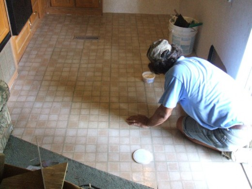 Repairing or replacing the floor is expensive.