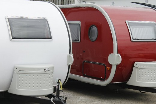 Tear drop camper trailers are making a comeback.