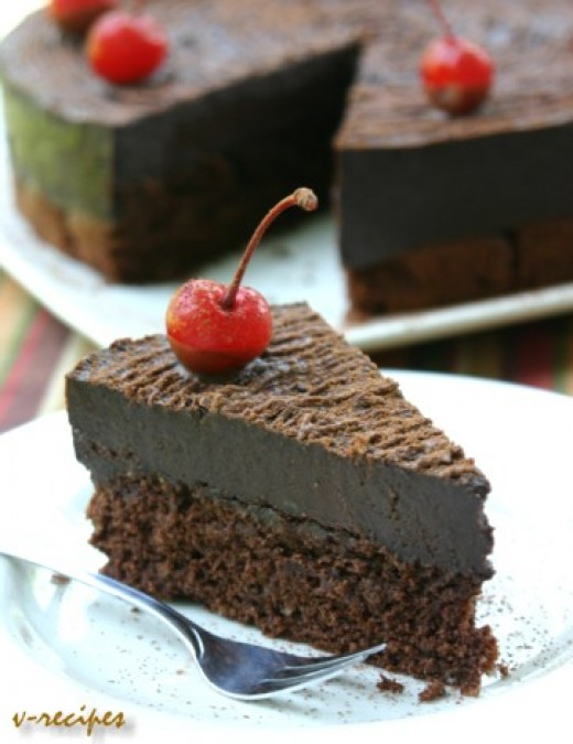 chocolate cake recipe. chocolate cake recipe