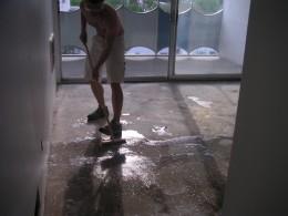garage floors etching garage floors