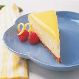 Lemon Custard Cheesecake For Diabetics.