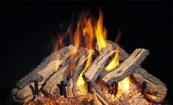 Ventless Gas Log Fireplace Decisions When Customizing Outdoors