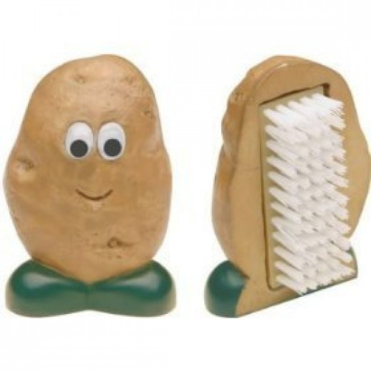 Mr Potato vegetable cleaning brush