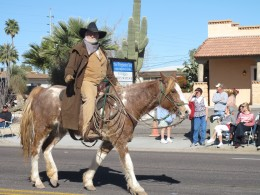Many colorful characters enliven the Wickenburg scene once a year at Wickenburg's annual Gold Rush festival.