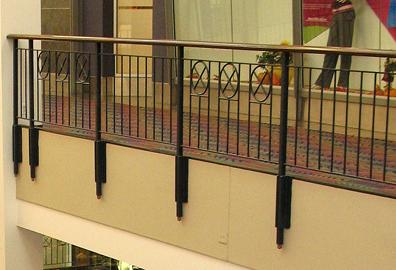 Powder coat that railing! by rlz