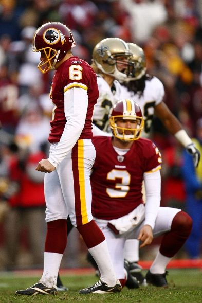 Yet another routine missed kick this season costs the Redskins a most improbable upset