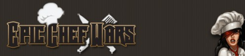 Epic Chef Wars iPhone Game Logo