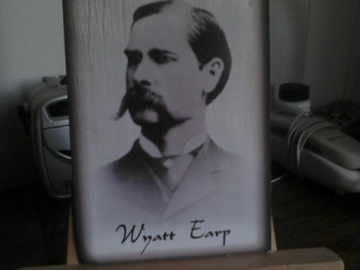 Wyatt Earp of the Earp brothers, the lawmen in Tombstone, Arizona.