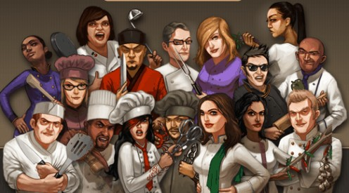 Epic Chef Wars Chefs Characters