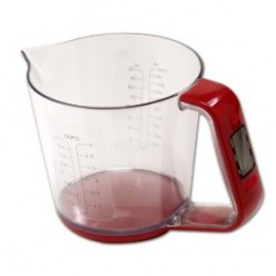 Taylor Digital Measuring Cup and Scale for the Foodie