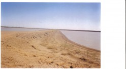 Same cotton farmer has two dams the size of lakes. is this water all his allocation?