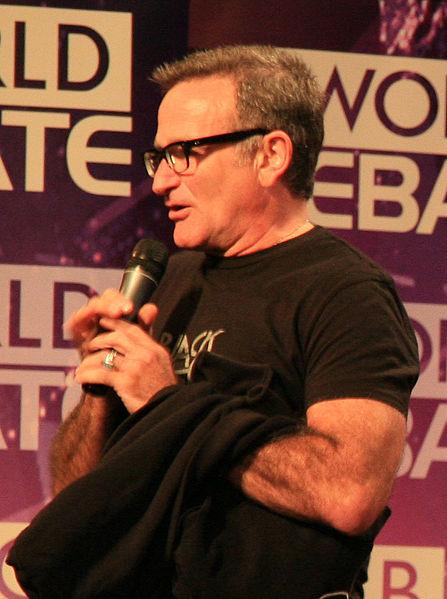 Robin Williams  Photo: Steve Jurvetson