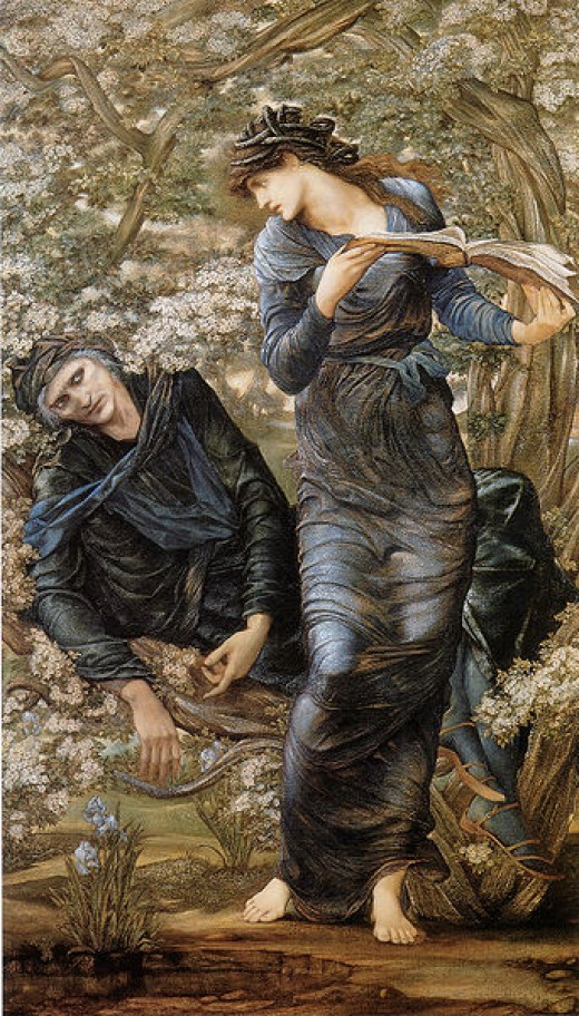 Edward Burne Jones, 1874