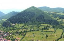 Visocica hill or pyramid
