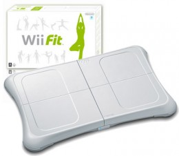 The Wii Balance board became a huge hit with Nintendo's Wii Fit.