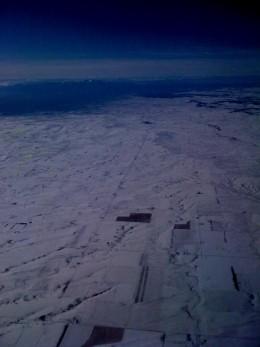 Snow around Denver