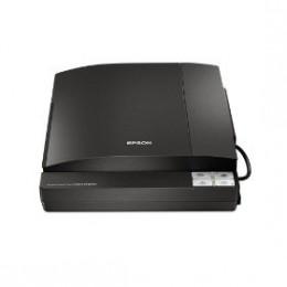 Black Epson photo scanner