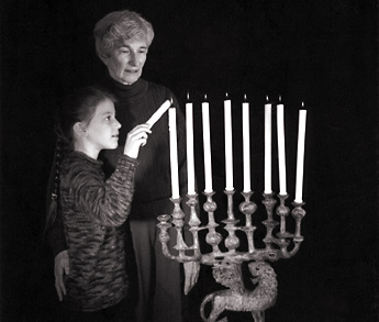 tradition to light the Menorah each of the 8 Nights of the Festival of Lights
