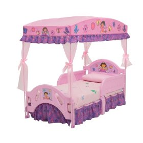 Dora Explorer canopy bed
