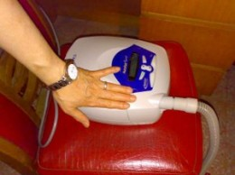 CPAP units are now very compact and easy to take along when traveling