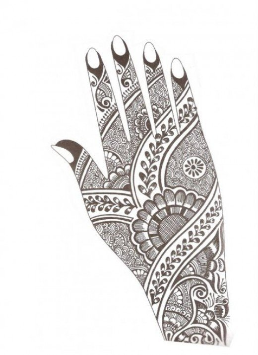Karwa chauth mehndi designs 2016 with - Mehndi Design In Paper Beautiful Collections