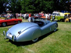 Jaguar XK120 - Classic British Sports Cars