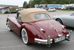 Jaguar XK140 Classic British Sports Cars