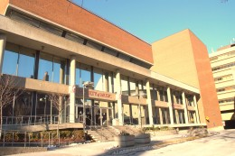 Venue of the Unity Concert, 80 Queen's Park,MacMillan Theatre, Faculty of Music Building, University of Toronto