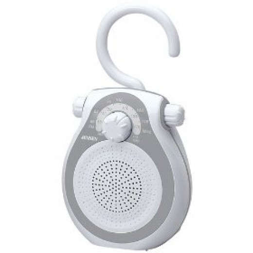 Jensen waterproof shower radio
