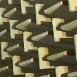 Wall of an Anechoic chamber
