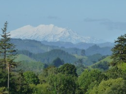 A view from Wanganui, North Island.