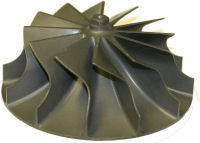 This picture is of an investment casting which demonstrates the DFMA principle Near Net Parts