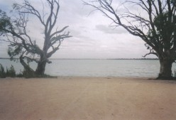 Lake Benanee, Euston...90kms east of Mildura