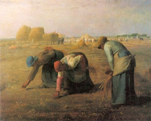 The Gleaners. Jean-Franois Millet. 1857