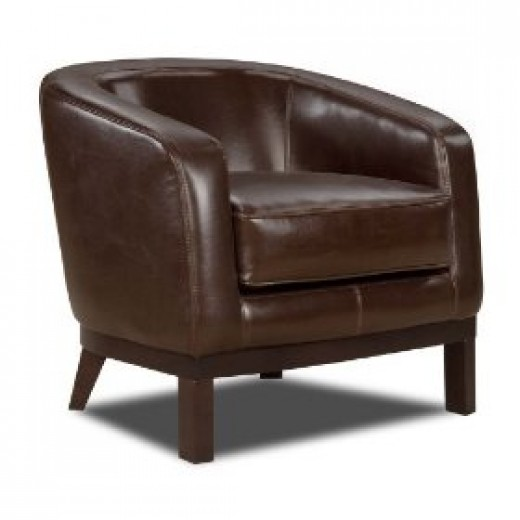 Soflex Houston Accent leather club chair