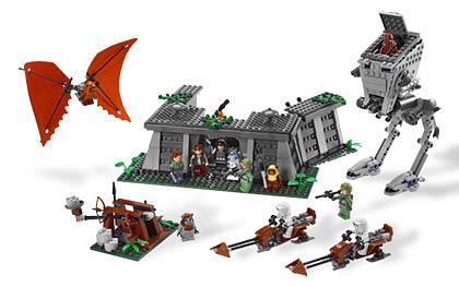 The Ewok Adventure Battle of Endor