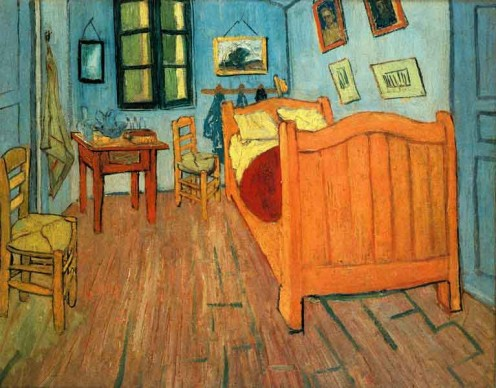 Van Gogh Painting: Vincent's Room (7)
