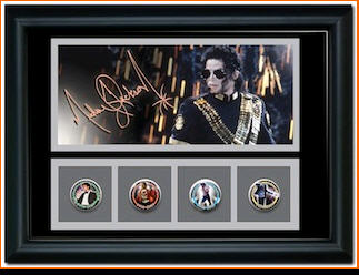 Michael Jackson Coin Set